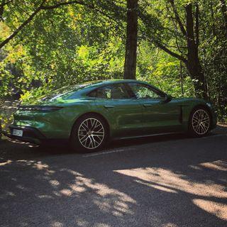 Porsche SPARKER døren ind med elbilen Taycan – med Christian Schacht fra JP