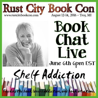 Ep 7: Author Interview with Roni Hall | Book Chat LIVE