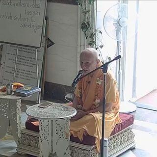 S.B. Canto 3 Cap. 26 verso 32 ~ Sua Santità Candramauli Swami (7 luglio 2019)