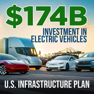 42. $174 Billion Investment In Electric Vehicles | U.S. Infrastructure Plan