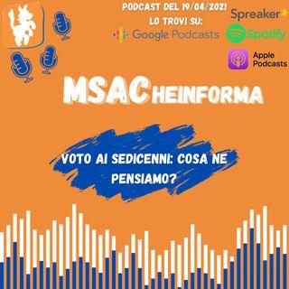 Voto ai Sedicenni: cosa ne pensiamo? | con Simone e Erika