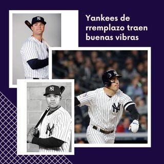 Yankees de reemplazo traen buenas vibras y victorias