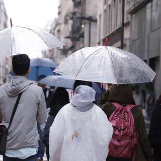 Activan alerta amarilla por lluvia en ocho alcaldías de la CDMX