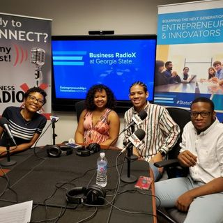 Mikayla Oberlton with Sisters, Faderin and Immanuel Powell with Gilmer Street and Branding Strategist Miya Burrus and