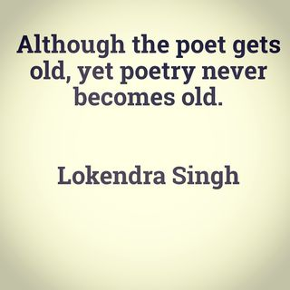 A Poet's Diary (Lokendra Singh)