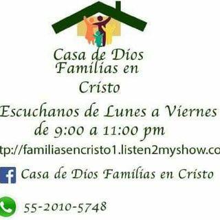 CASA DE DIOS FAMILIAS EN CRISTO CDMX.