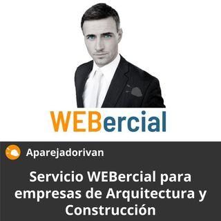 Servicio WEBercial para empresas de arquitectura y construcción