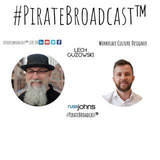 Catch Lech Guzowski on the #PirateBroadcast™