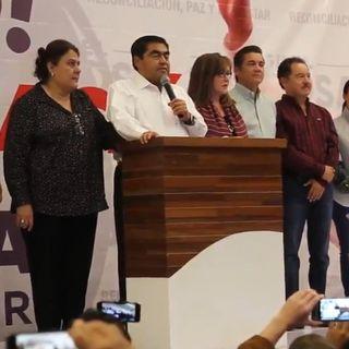 Barbosa se declara gobernador de las elecciones en Puebla