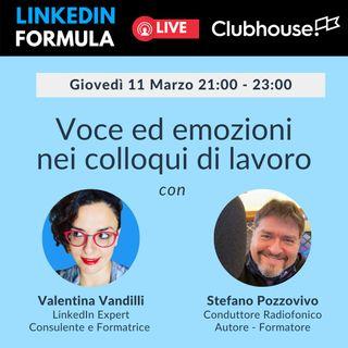Voce ed emozioni nei colloqui di lavoro con Stefano Pozzovivo