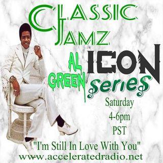 Classic Jamz *Icon Series: Al Green* 1/30/2021