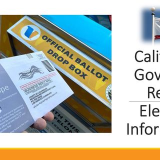 It's ONME Local-CV-8-10-21:  Dates approaching for CA Gov. Recall Elections; also there are two upcoming Central Valley elections