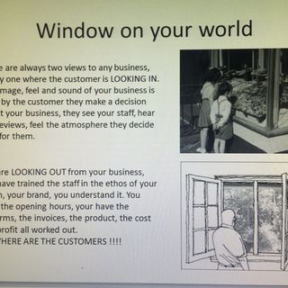 Business ( window on your world)