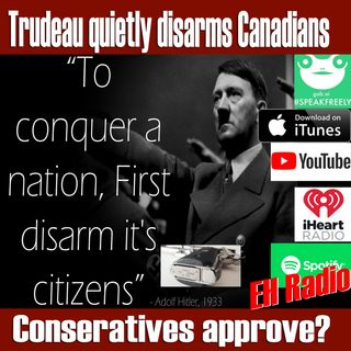 Morning moment Trudeau wants to ban ALL Guns in Canada Sep 20 2018
