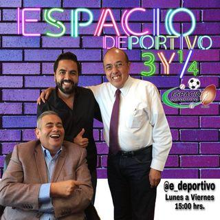Felicidades Pepe Segarra por un año más de ser paqueteado en Espacio Deportivo de la Tarde 20 de Julio 2020