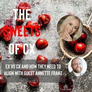 Episode 6 : Annette Franz - EX vs CX and How They Align