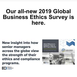 Global Business Ethics Survey