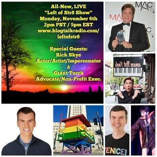 Left of Str8i Show:  Special Guests Rick Skye and Grant Turck