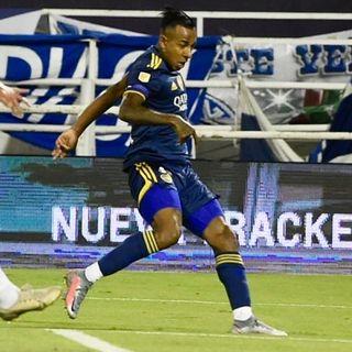Gol de Boca: Sebastián Villa 1-3