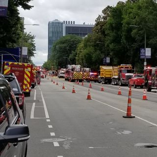 Gas Leak Shuts Down Brookline Ave In Boston