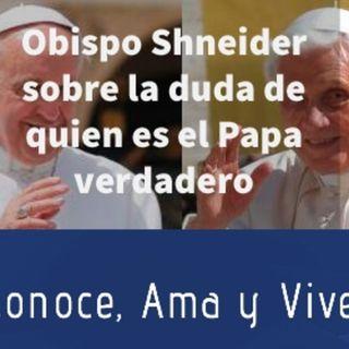 Episodio 204: 🤷♀️ Sobre la duda de quien es el Papa Verdadero 🤔  Documento Obispo Schneider  👏