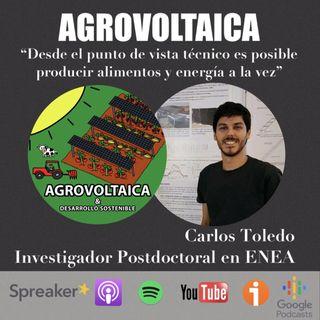 Agrovoltaica con Carlos Toledo
