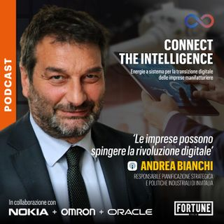 """Andrea Bianchi: """"Le imprese possono spingere la rivoluzione digitale"""""""