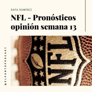 NFL Pronosticos Semana 13