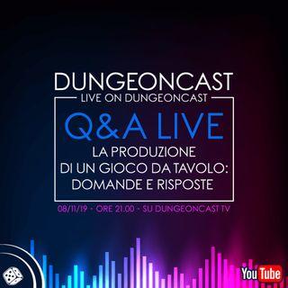 Dungeoncast - Q&A - La produzione di un gioco da tavolo