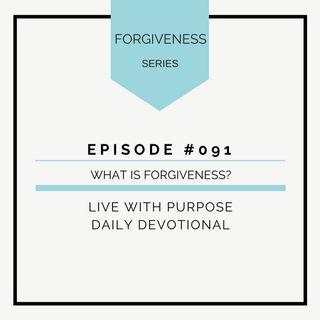 #091 Forgiveness: What is Forgiveness?