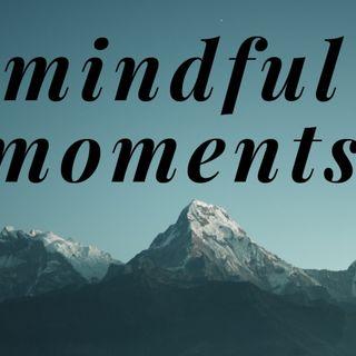 Mindful Moments 8/3/2020