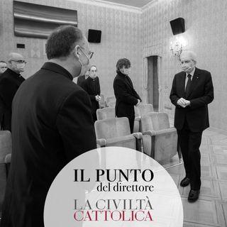 Il Presidente Mattarella ha ricevuto gli scrittori della Civiltà Cattolica