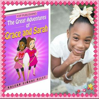 Kaleah Simone: Adventures of Grace and Sarah Book Signing