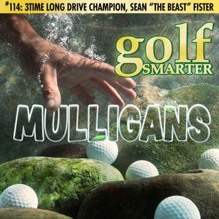 """3Time Long Drive Champion, Sean """"The Beast"""" Fister"""