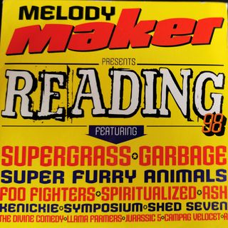 Free With This Months Issue 29 - Sarah Daniels selects Melody Maker's Reading Festival 1998