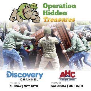 JERRY FLANAGAN, Army veteran and New Discovery Channel series OPERATION HIDDEN TREASURES