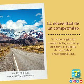 26 de octubre - La necesidad de un compromiso - Una Nueva Versión de Ti 2.0 - Devocional de Jóvenes