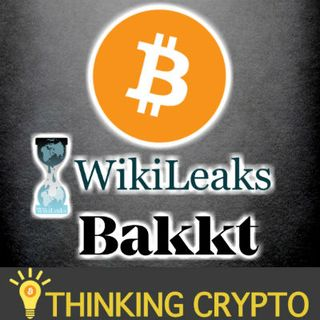 BITCOIN FLASH CRASH WikiLeaks Julian Assange - Bakkt Hires PayPal Google Veteran - Crypto Stripe Flexa - EOS Moonlighting