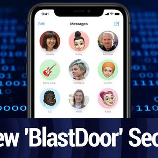 Messages' New 'BlastDoor' Security System Found in iOS 14 | TWiT Bits