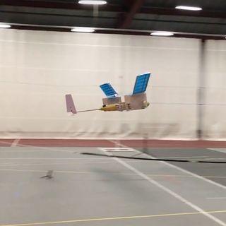 Primer avión capaz de volar sin partes móviles