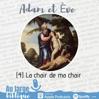 #199 Adam et Eve : A qui la faute ? (4) La chair de ma chair