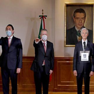 Toman protesta nuevos secretarios de Salud y Desarrollo Económico en Edomex
