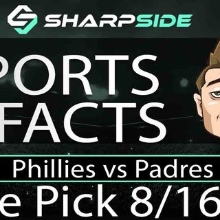 FREE MLB Betting Pick: Philadelphia Phillies vs. San Diego Padres - August 16