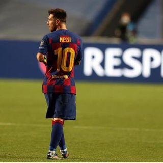 Busca Messi salir del Barcelona