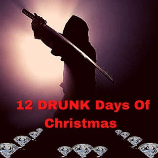 12 DRUNK Days Of Christmas