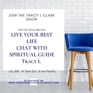 Ask You Shall Receive - Live Chat With Tracy L