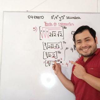 Profesor quería explicar matemáticas de manera diferente y ahora tiene 3 millones de seguidores en TikTok