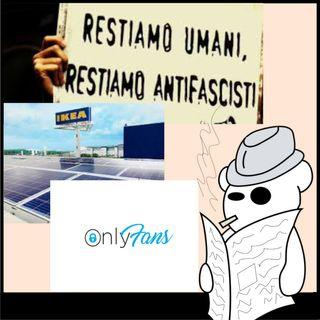 OnlyFans, Ikea e apologia di fascismo