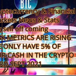 Crypto & Financial Markets News & Stats 13th Sept 2021P   Risk Risk Risks