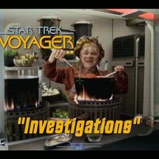 "Season 6, Episode 6 ""Investigations"" (VOY) with Asterios Kokkinos"